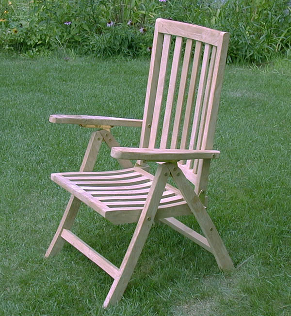 Dorset Chair Solid Teak Garden Furniture From The Wood