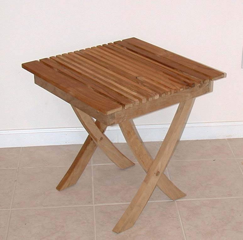 garden square folding tables 2