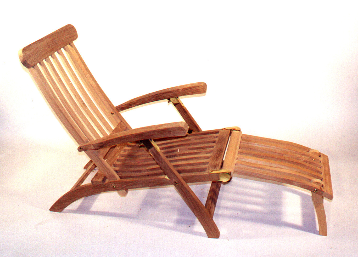 Steamer Chair. Solid Teak Garden Furniture, Fireplace Mantels - Steamer Chair. Solid Teak Garden Furniture From The Wood Carver Inc